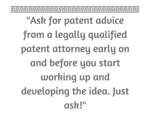 Patent Tip 1