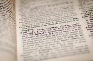 Patent words